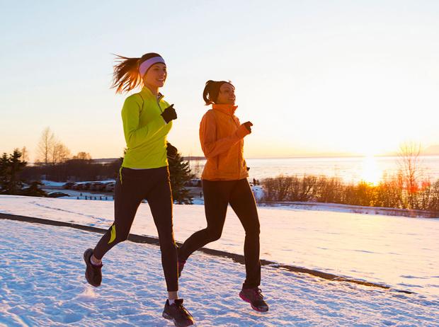Фото №2 - Правила бега в холодное время года