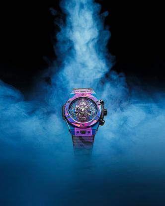 Фото №1 - Часы Hublot x DJ Snake в цветах вечеринки, которую вы не захотите пропустить