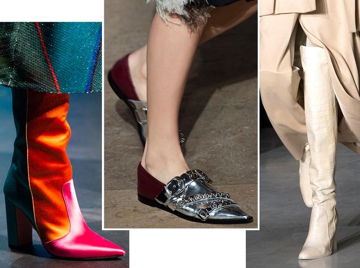 Фото №1 - Самая модная обувь осени и зимы 2019/20
