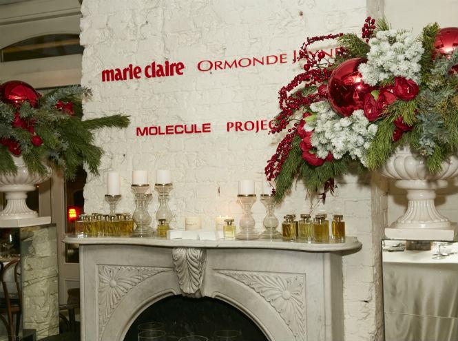 Фото №1 - Предновогодний ужин Marie Claire и MOLECULE project