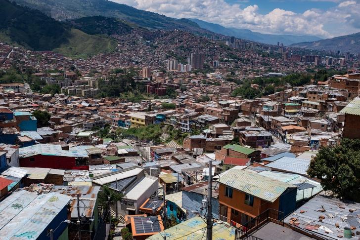 Фото №1 - Коммуна 13: колумбийские фавелы