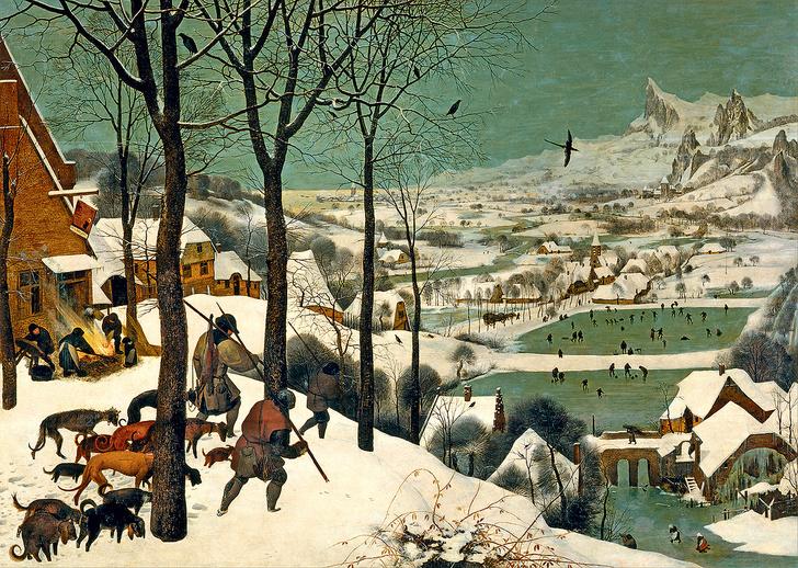 Фото №1 - «Охотники на снегу» Брейгеля: 9 интересных фактов