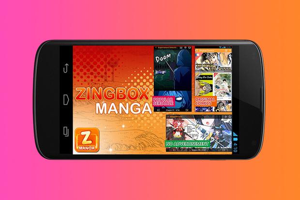 ZingBox Manga приложение