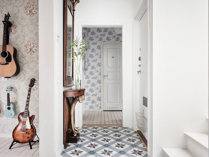 Фото №10 - Уютная квартира с мансардой в Швеции