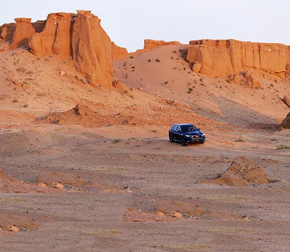 Фото №6 - Автопробег: открытый простор пустыни Гоби