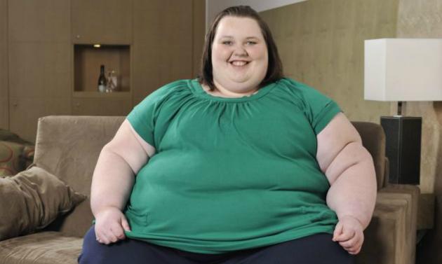 Фото №1 - Самая толстая девочка Великобритании обещает похудеть