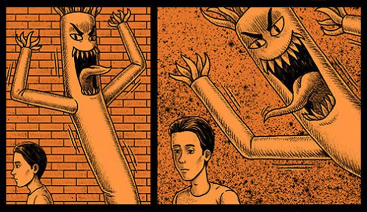 Фото №1 - 30 комиксов с отборным черным юмором от Бена Чена