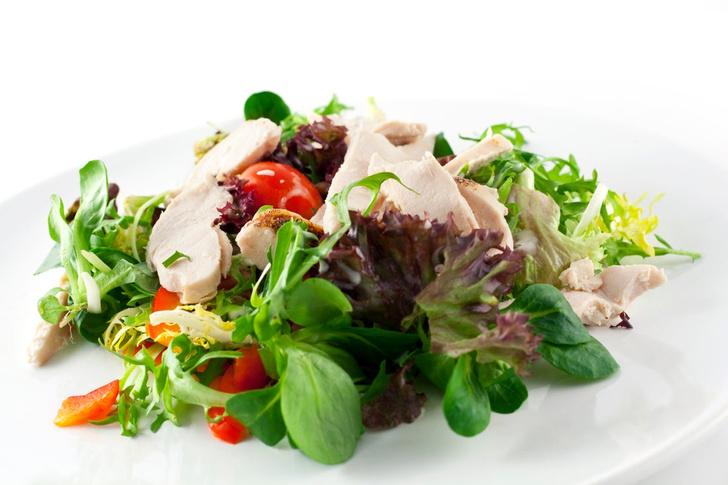 Салат из куриной грудки как приготовить