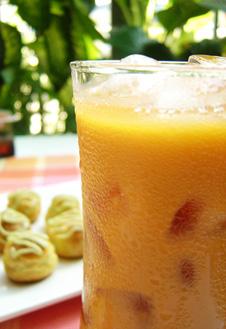 Холодный медовый чай