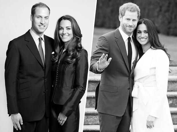 Фото №1 - Кейт и Уильям или Меган и Гарри: чьи отношения крепче, глубже и романтичнее