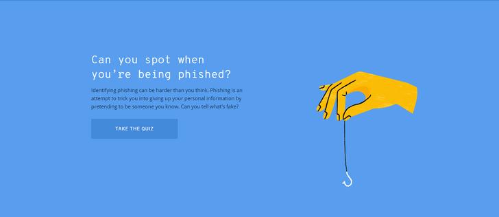 Фото №1 - Сайт дня: Онлайн-игра от Google научит, как не нарваться на хакерскую ссылку в своем email
