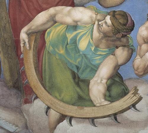 Фото №3 - Обидеть художника: 7 тайн «Страшного суда» Микеланджело
