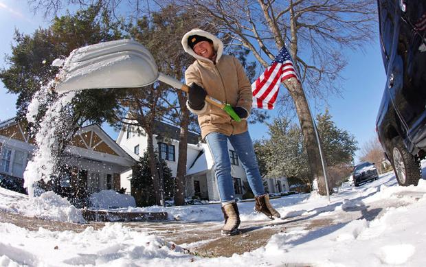 Техас, США, снегопад, погода, новости, температура, черепахи, фото