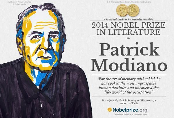 Фото №1 - Лауреатом Нобелевской премии по литературе стал Патрик Модиано
