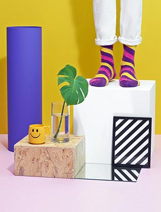 Фото №1 - В SOHO появилась коллекция носков Happy Socks