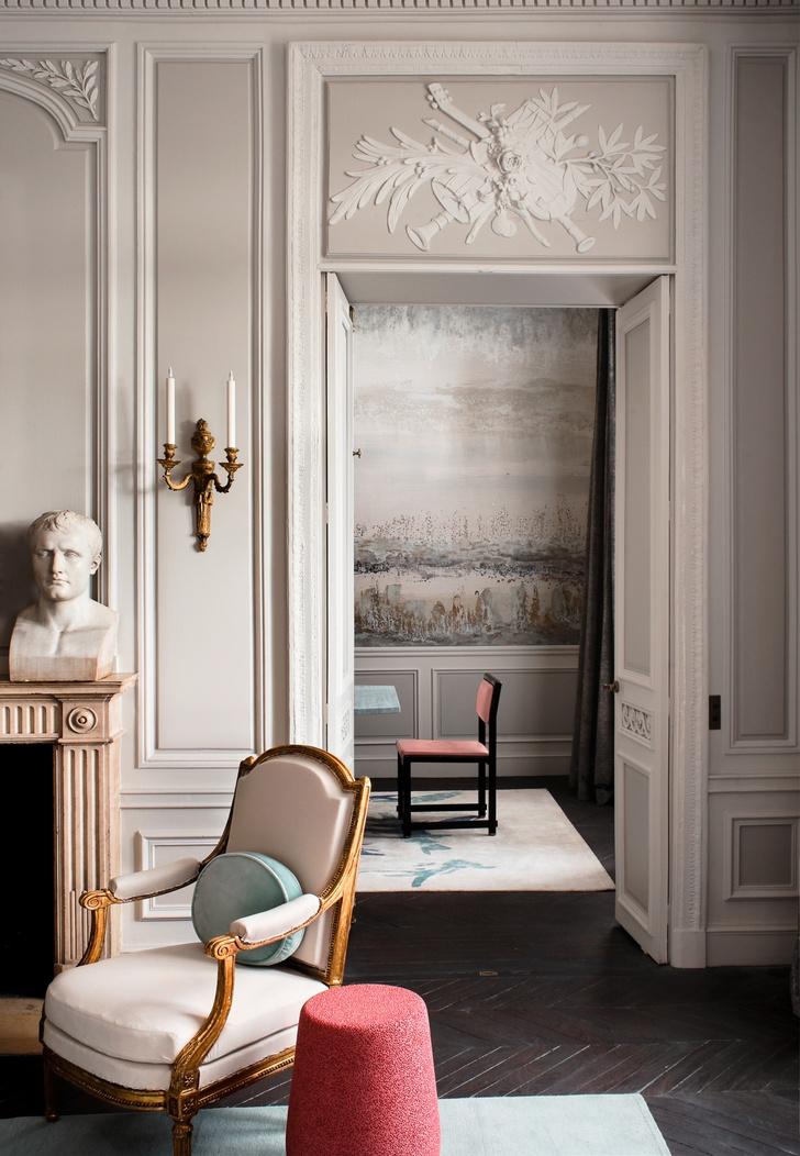 Фото №3 - Полночь в Париже: квартира по проекту Жан-Луи Деньо