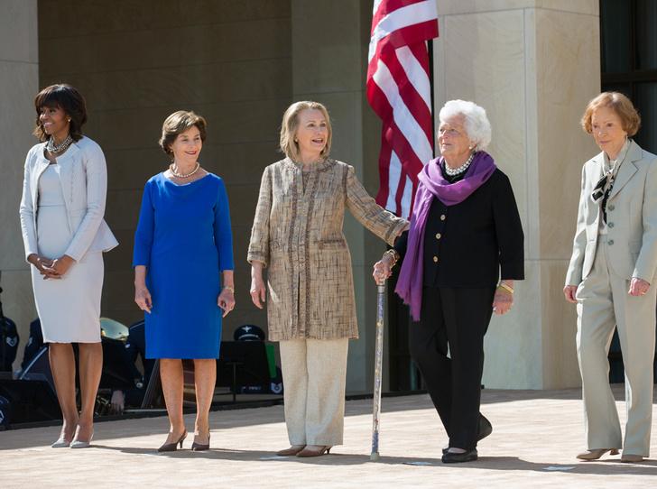 Фото №5 - Бывшие первые леди США выступили против президента Трампа