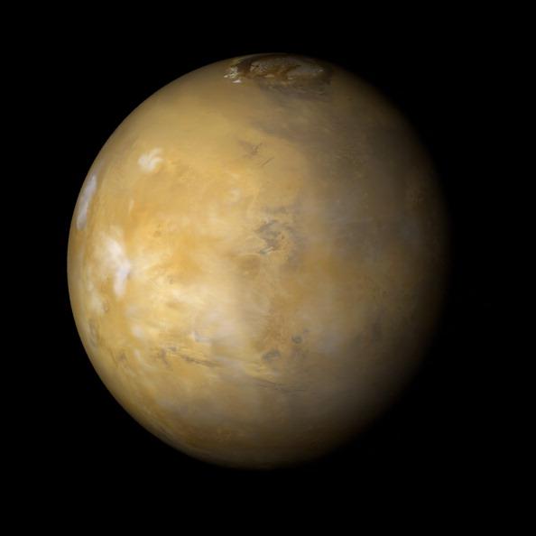 Фото №1 - Когда на Марсе появились океаны