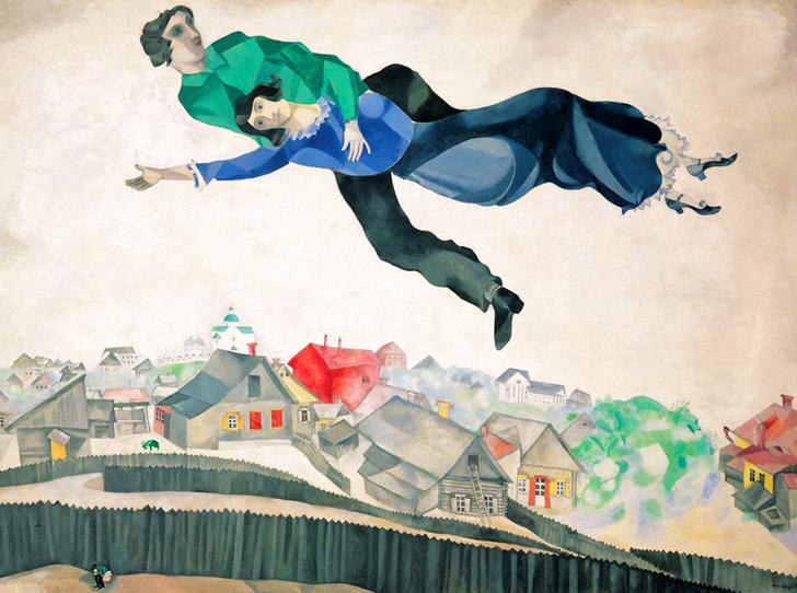 Фото №2 - Женщина судьбы: Белла Розенфельд в жизни и творчестве Марка Шагала
