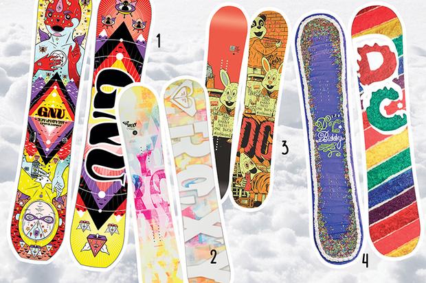 Фото №4 - 20 крутых сноубордов