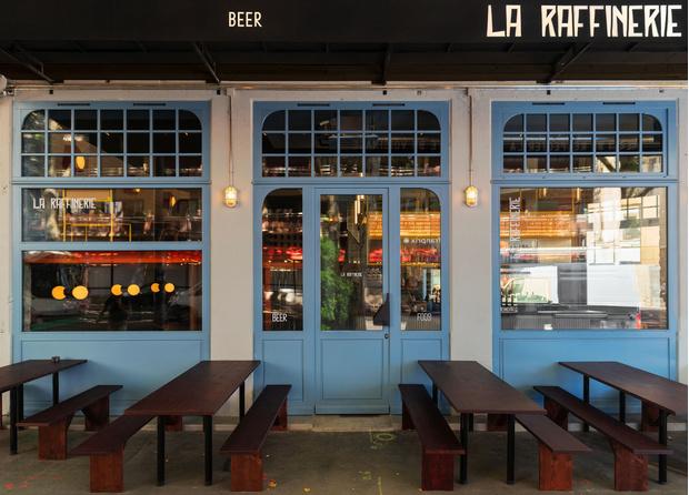 Фото №9 - Яркий бар La Raffinerie в Лионе