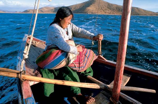 Фото №1 - Тростниковая жизнь на Титикаке