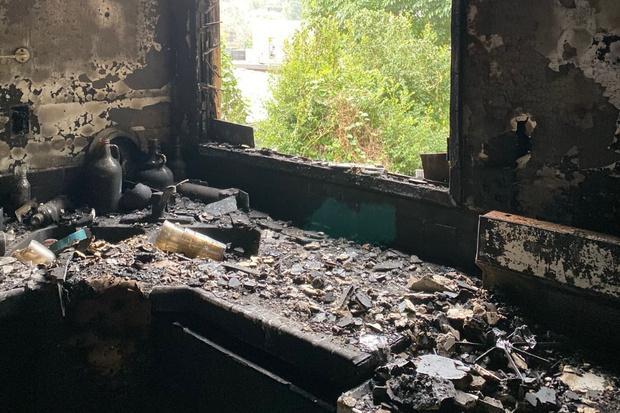 Фото №3 - До слез: пес погиб, спасая хозяина из пожара
