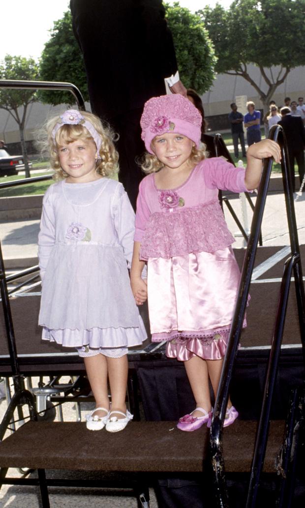 сестры Олсен в детстве и сейчас фото