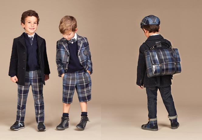 Фото №19 - Модные школьники: детская коллекция Dolce&Gabbana осень-зима 16/17