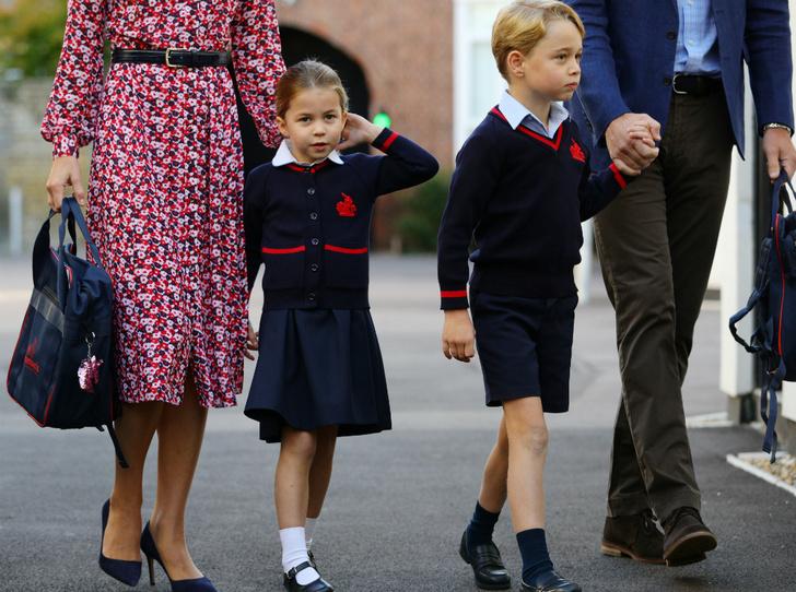 Фото №8 - Принцесса Шарлотта Кембриджская: пятый год в фотографиях