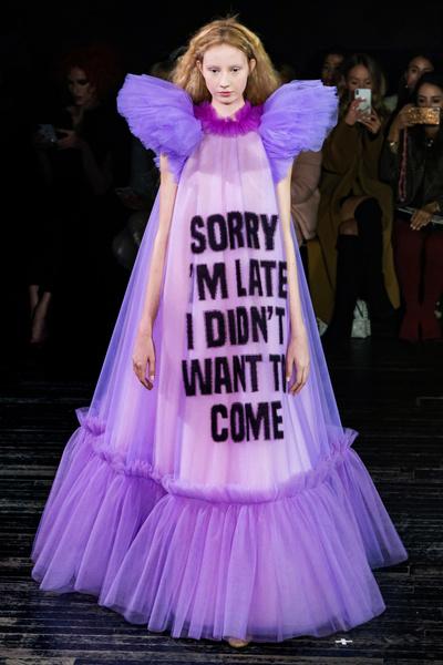 Фото №1 - Mood of the day: новая забавная коллекция платьев от Victor & Rolf