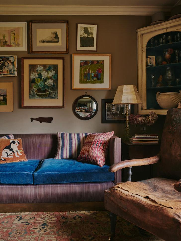 Фото №1 - Дом дизайнера и антиквара в Хэмпшире