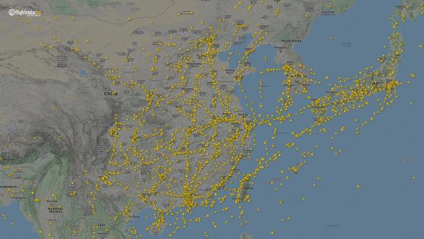 Фото №6 - Как изменился авиатрафик в разных регионах мира во время пандемии