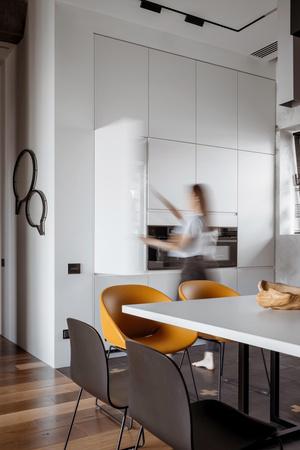 Фото №5 - Квартира 136 м² с бетонным потолком в Москве