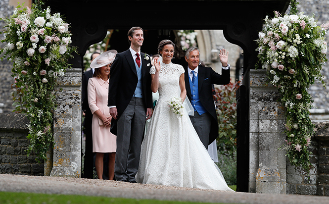 Фото №42 - Свадьба Пиппы Миддлтон