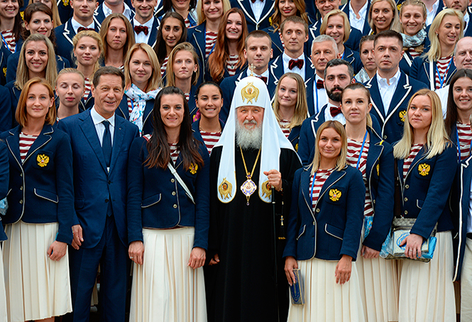 Фото №4 - От Лубутена до H&M: самая обсуждаемая форма олимпийцев-2016
