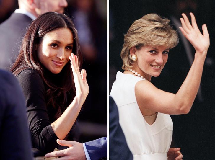 Фото №1 - Новая Диана: Меган Маркл становится второй «королевой сердец»