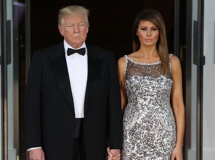 Фото №8 - Как изменился язык тела Дональда и Мелании Трамп (особенно после переезда в Белый дом)