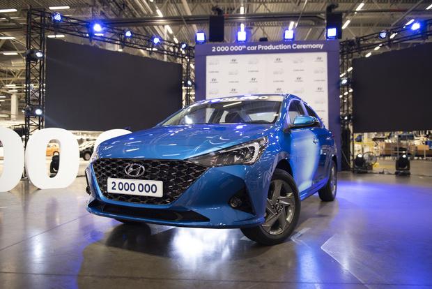 Фото №1 - В Питере представили новый Hyundai Solaris