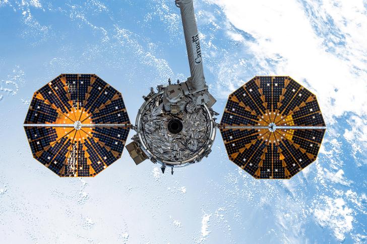 Фото №1 - К МКС пристыковался грузовой корабль Cygnus