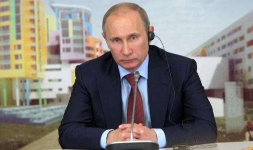 Фото №1 - Путин рассмотрит возможность создания детского онкоцентра в Петербурге