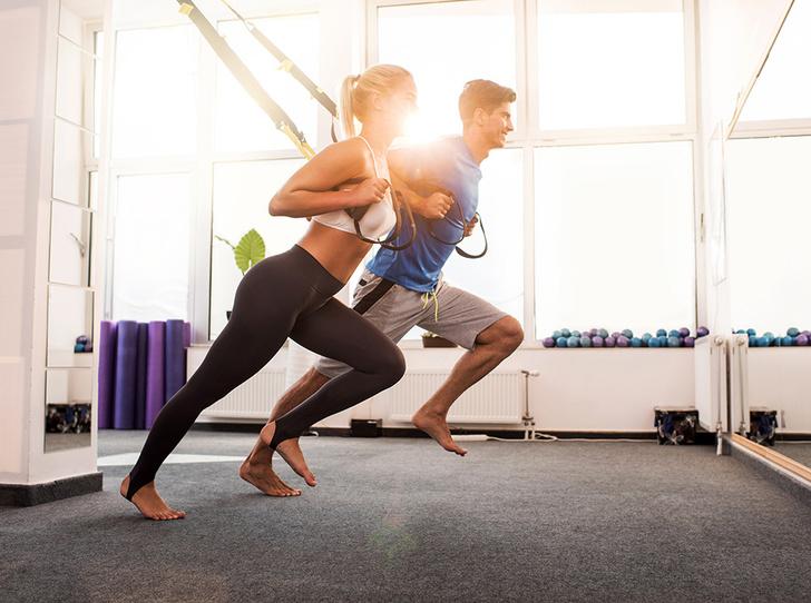Фото №1 - 6 причин, почему заниматься спортом нужно с любимыми