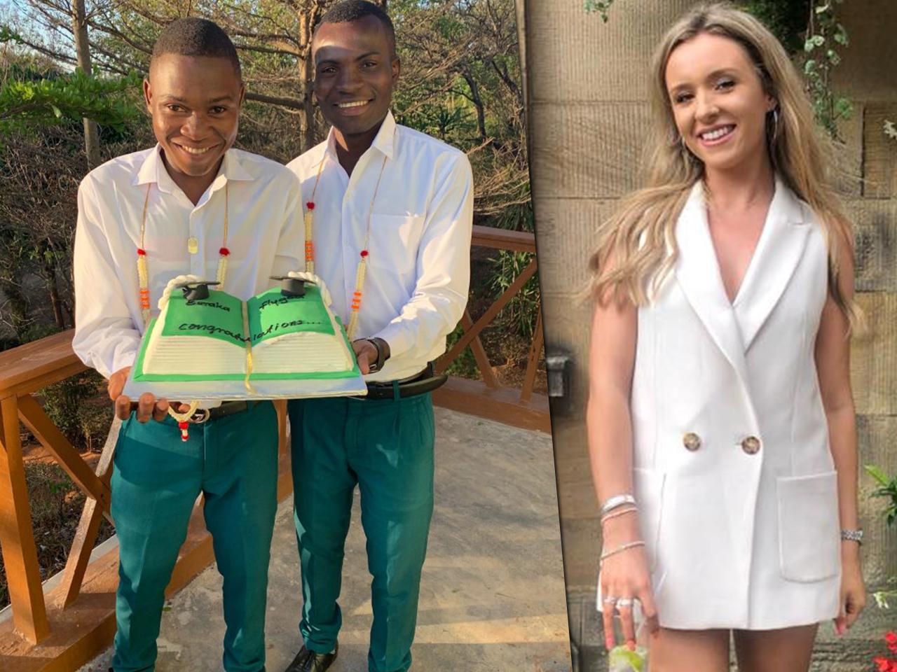 18-летняя британка стала приемной матерью для 14 детей из Танзании