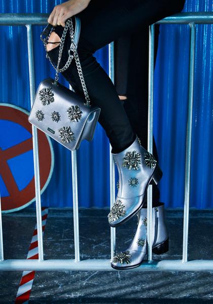 Фото №4 - Стук каблуков по мостовой: городской шик в новой рекламной кампании Ballin
