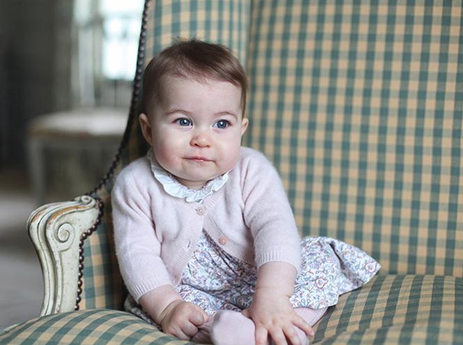 Фото №11 - Принцесса Шарлотта Кембриджская: первый год в фотографиях