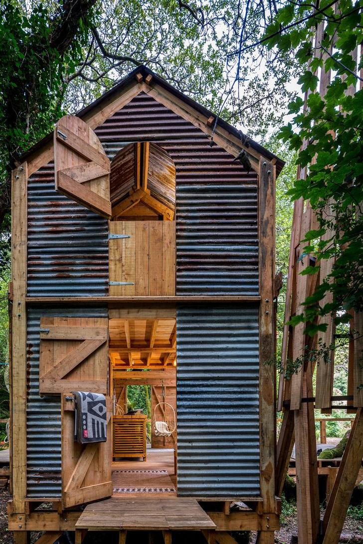 Фото №11 - Деревянная хижина в лесах Корнуолла