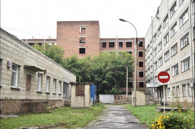 Фото №1 - В Ленинском районе Новосибирска достроят корпус больницы № 34