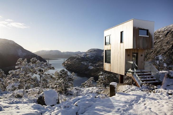 Фото №2 - Микроотель с видом на Люсе-фьорд в Норвегии