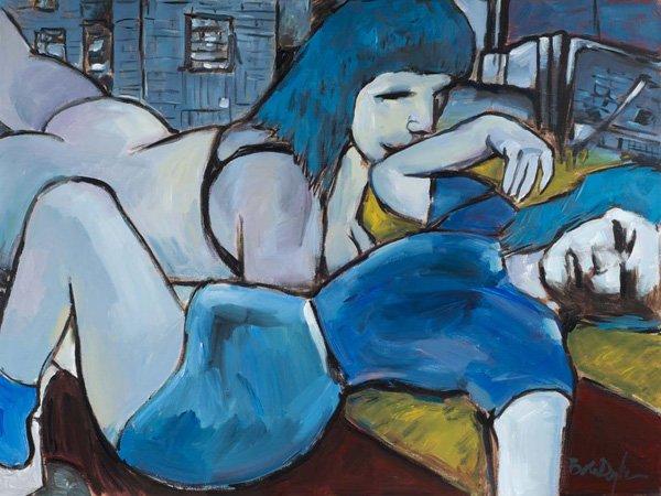 Фото №1 - Картины Боба Дилана покажут в Национальной портретной галерее