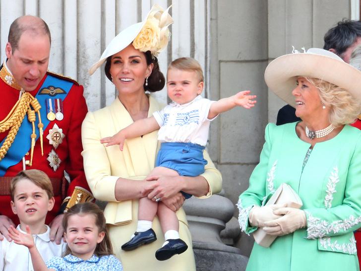 Фото №1 - «Бабушка» или «мэм»: как дети Кембриджских называют герцогиню Камиллу